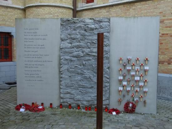 Poperinge Town Hall Death Cell : Execution Post..!