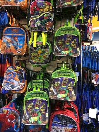 Back packs - Picture of The Outlet Collection - Jersey Gardens ...