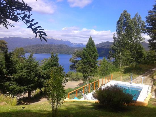 Cabanas Paisaje Bandurrias : La vista desde el deck