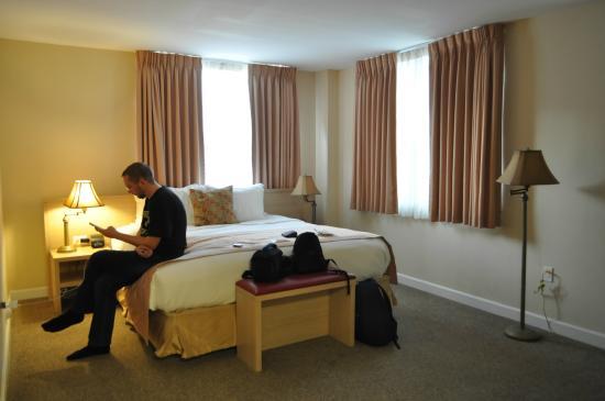 Villa Italia Hotel: Номер на 1 этаже