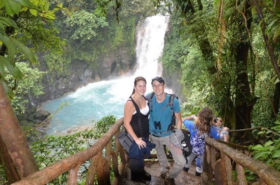 Tenorio National Park: bij de waterval
