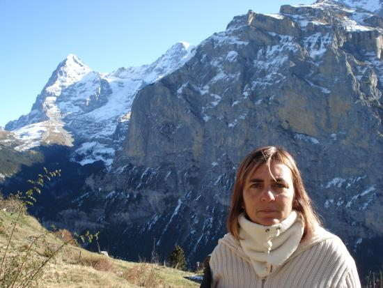 Мюррен, Швейцария: Uma vista incrivel, muito alto.