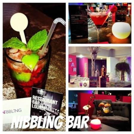 Le Nibbling: Différents cocktails