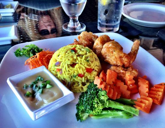 Sur Club Sushi Bar: Try our Coconut Curry Shrimp Entree!