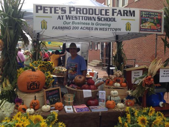 Pete's Produce Farm at Westtown School