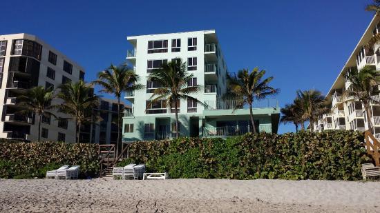 Seabonay Beach Resort: Seabonay from the beach
