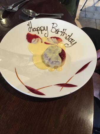 Masons Restaurant - Brentwood: Happy Birthday :-)