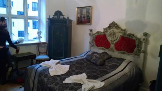Rent a Room Copenhagen : Quarto casal com banheiro compartilhado