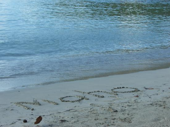 Maho Beach: Loved the sand!