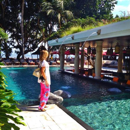 Club pool picture of puri santrian sanur tripadvisor for Pool show perth 2015