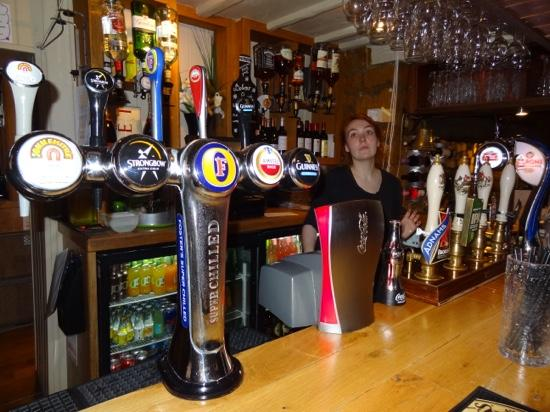 pub at the Thornhill Arms