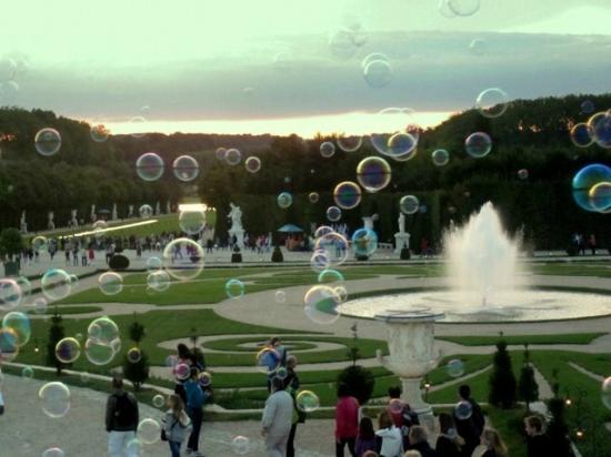 Novotel Chateau de Versailles: parc du château