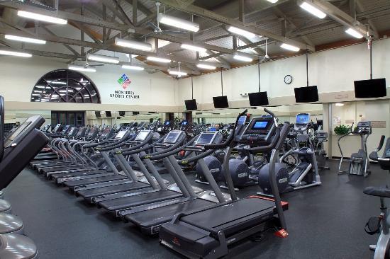 Monterey Sports Center : Cardio Fitness Center