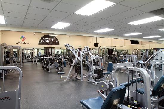 Monterey Sports Center : Weight Training Center