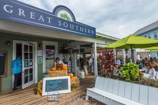 Great Southern Cafe Seaside Florida Menu