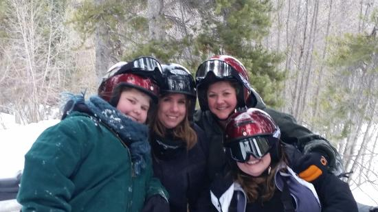 Monarch Snowmobile Tours: One of the best days with my girlfriends!