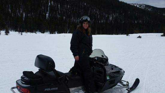 Monarch Snowmobile Tours: So much fun!