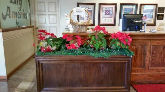 BEST WESTERN Plus Big America: Christmas lingered into January.