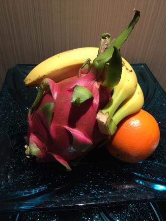 Inspirock hotel: Fruit Plate