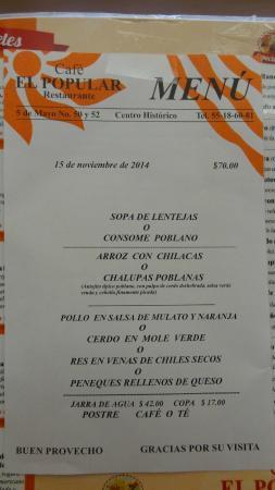 Tradicionales En El Df Chilaquiles Verdes Con Huevo Estrellado Picture Of Cafe El Popular