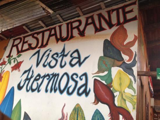 Vida Hermosa Bar y Restaurante: Sign