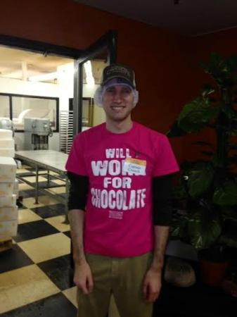 """South Bend Chocolate Factory and Museum Tours: #1Tour guide """"Captain Crunch"""""""