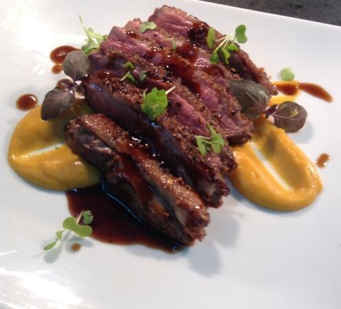 Lovage Bistro : maroccan duck breast