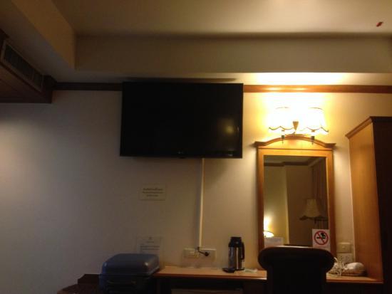 V.L. Hatyai Hotel: ทีวีขนาดใหญ่