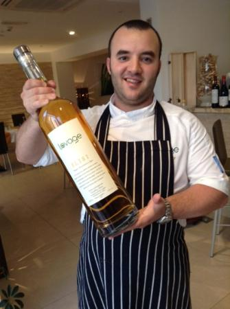 Lovage Bistro : our in house Grappa