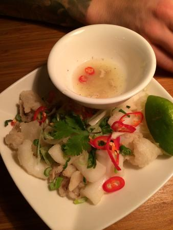 Pho: fried squid. a favourite.