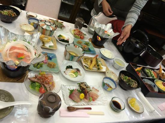 Hotel Furearu Izumi: 食事