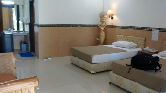 Putri Island Resort Hotel: Kamar Tidur