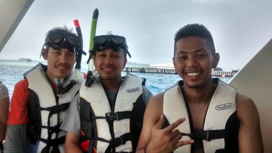 Putri Island Resort Hotel: Siap-siap Snorkling