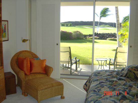 The Islands at Mauna Lani: 寝室から