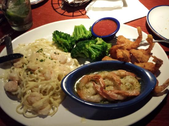 Red Lobster: Prato de camarão