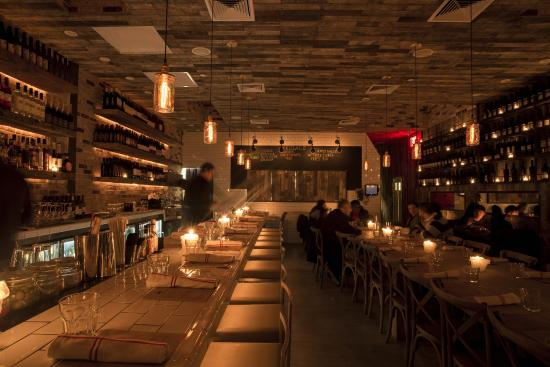 Miusa Wine Bar: Interior Design