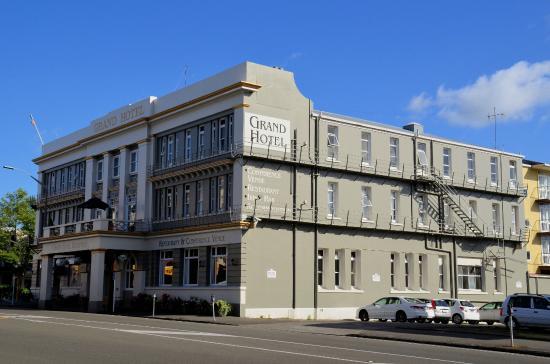 The Grand Hotel: Grand exterior