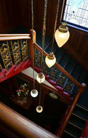 The Grand Hotel: Grand staircase