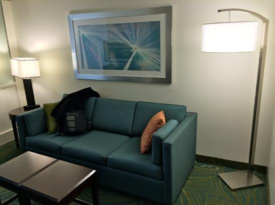 SpringHill Suites Fort Lauderdale Airport & Cruise Port : Clean and spacious room