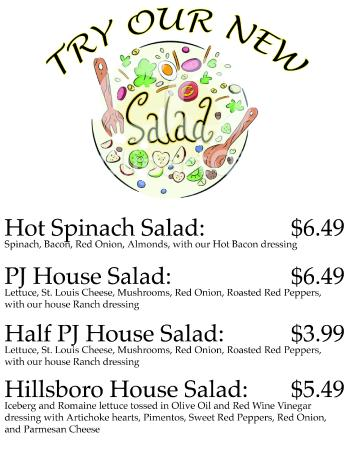 Pizza Junction: Try our NEW salads