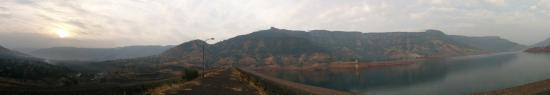 Wai, Indien: Landscape