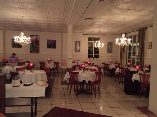 Interior picture of russia house restaurant herndon