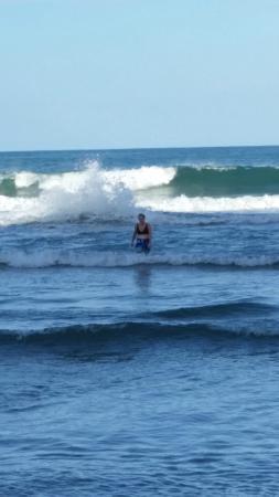 Mother Dear Ocean Cottages: swim time
