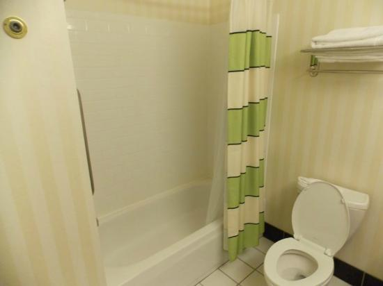 Fairfield Inn & Suites Seattle Bellevue/Redmond: Roomy Bathroom