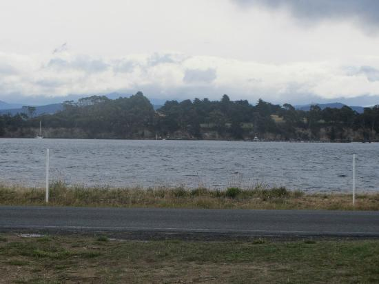Hotel Bruny: View from the front door