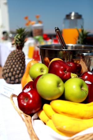 Hotel Gran Palma: Desayuno frutas