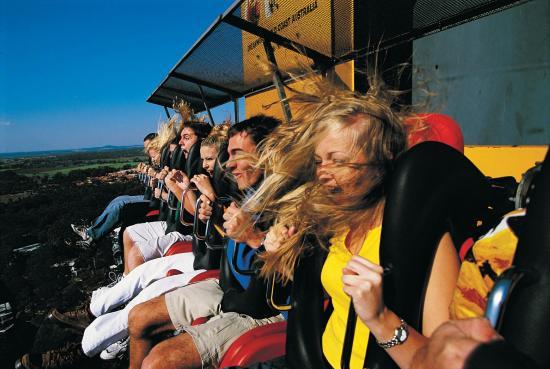 Coomera, Austrália: Giant Drop