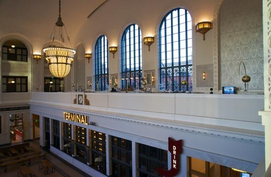 The Station And Terminal Bar Picture Of The Crawford Hotel Denver Tripadvisor