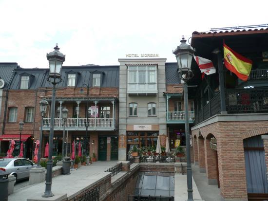 Hotel Morgan: outside view
