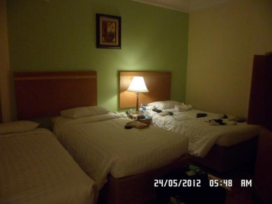 Al Haram Hotel : Our room